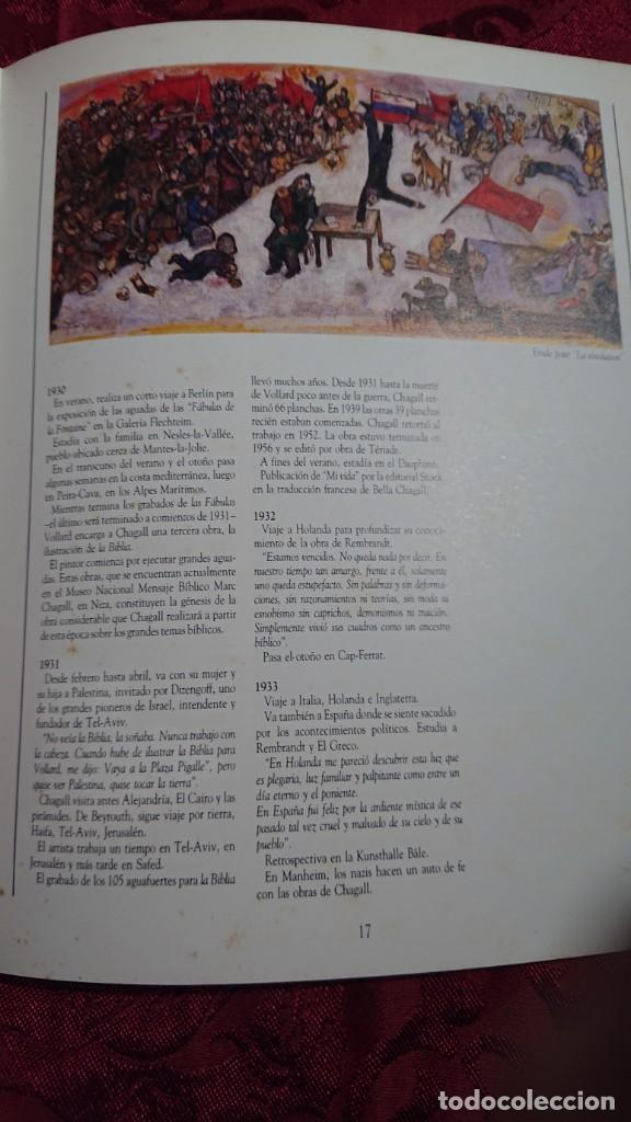Libros de segunda mano: MARC CHAGALL 112 OBRAS DE LA DACION EXPOSICION NACIONAL BELLAS ARTES BUENOS AIRES ARGENTINA 1989 - Foto 9 - 194239313