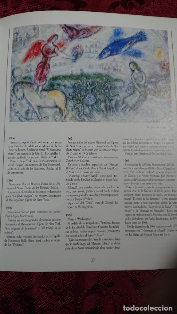 Libros de segunda mano: MARC CHAGALL 112 OBRAS DE LA DACION EXPOSICION NACIONAL BELLAS ARTES BUENOS AIRES ARGENTINA 1989 - Foto 10 - 194239313