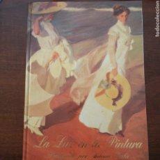 Libros de segunda mano: LA LUZ EN LA PINTURA, PROLOGADO POR ANTONIO GALA. ED. CARROGGIO 1998, EDICIÓN LIMITADA. Lote 194273755