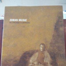 Libros de segunda mano: ZORAN MUSIC-DE DACHAU A VENECIA--VVAA-FUNDACIO CAIXA CATALUNYA-2008-EXCELENTE. Lote 194282476