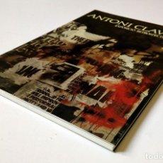 Libros de segunda mano: ANTONI CLAVÉ EXPOSICIÓ RETROSPECTIVA ED. GENERALITAT DE CATALUNYA 1989 - PERFECTO ESTADO. Lote 194338356