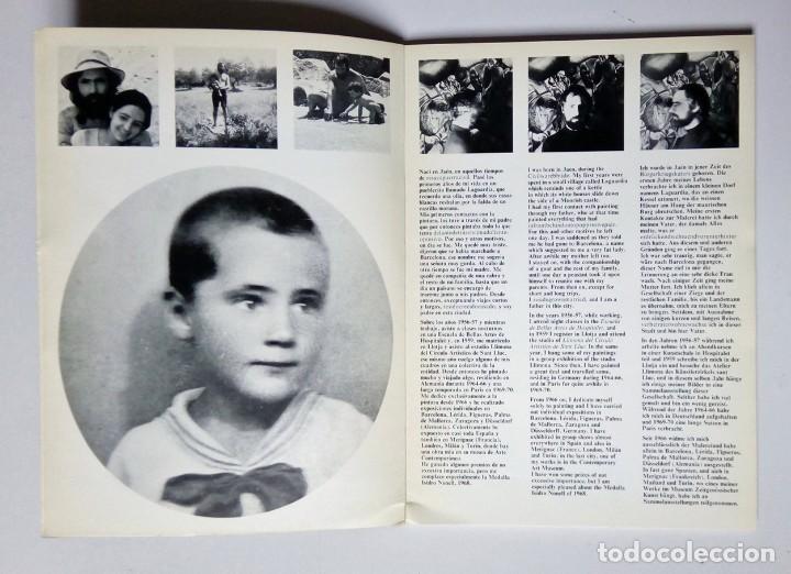 Libros de segunda mano: GUERRERO MEDINA - PINTURA, DIBUJO Y OBRA GRÁFICA - GALERIA LLEONART - BARCELONA 1975 - Foto 4 - 194339377