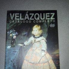 Libros de segunda mano: VELÁZQUEZ CATÁLOGO COMPLETO...1999. Lote 194339832