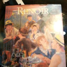 Libros de segunda mano: VOLUMEN ILUSTRADO, PAPEL SATIN SOBRE LA OBRA DE RENOIR, DE LESLEY STEVENSON. Lote 194383528