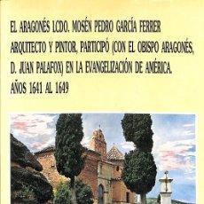 Libros de segunda mano: EL ARAGONES LCDO. Lote 194391135