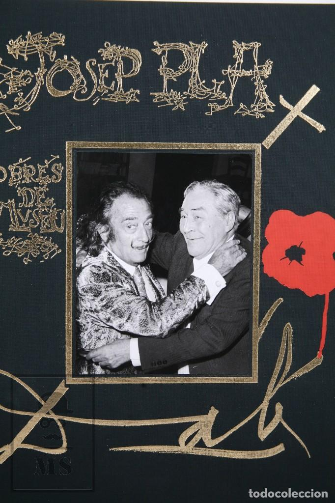 Libros de segunda mano: Libro Gran Formato Edición Limitada Salvador Dalí / Josep Pla - Obres de Museu - Ed. Grup 62, 2011 - Foto 2 - 194407181