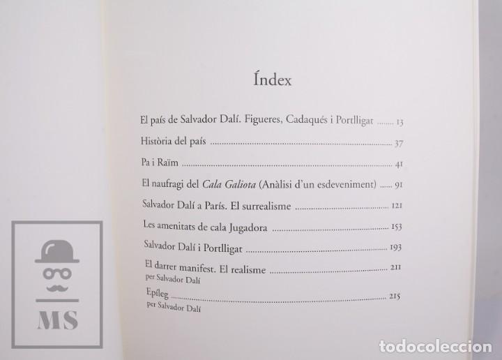 Libros de segunda mano: Libro Gran Formato Edición Limitada Salvador Dalí / Josep Pla - Obres de Museu - Ed. Grup 62, 2011 - Foto 6 - 194407181