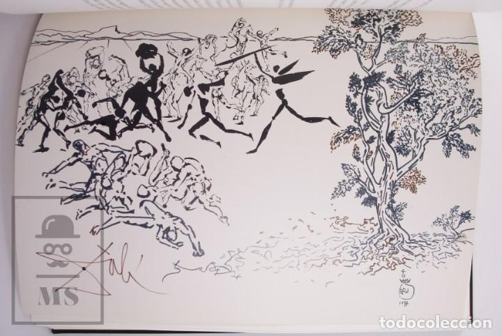 Libros de segunda mano: Libro Gran Formato Edición Limitada Salvador Dalí / Josep Pla - Obres de Museu - Ed. Grup 62, 2011 - Foto 7 - 194407181