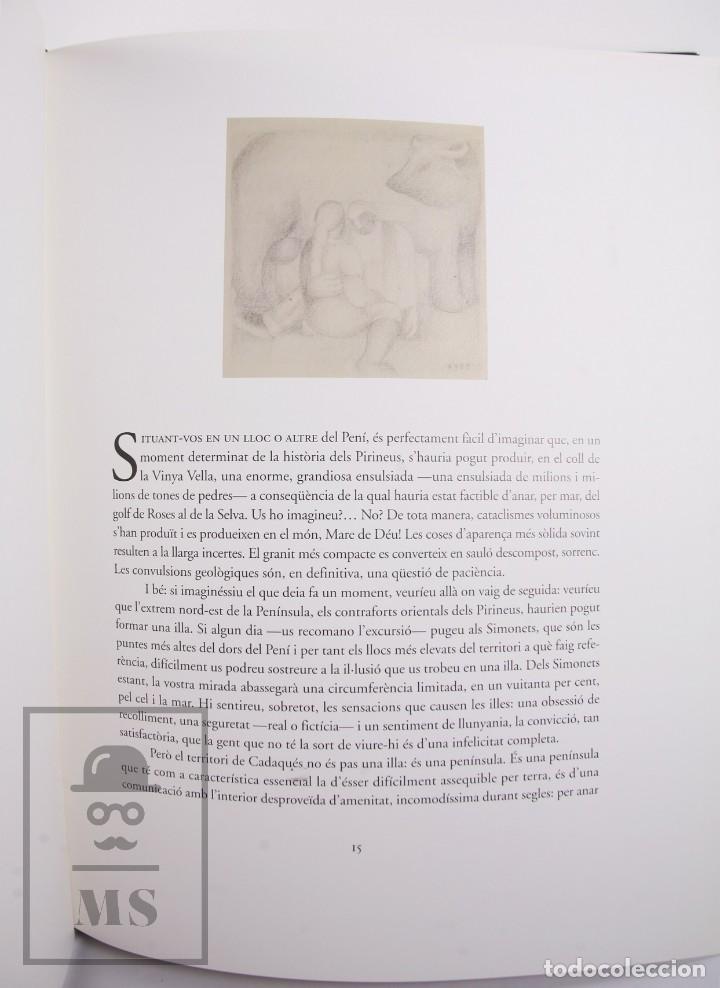 Libros de segunda mano: Libro Gran Formato Edición Limitada Salvador Dalí / Josep Pla - Obres de Museu - Ed. Grup 62, 2011 - Foto 8 - 194407181