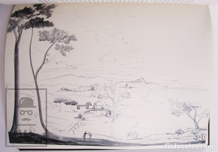 Libros de segunda mano: Libro Gran Formato Edición Limitada Salvador Dalí / Josep Pla - Obres de Museu - Ed. Grup 62, 2011 - Foto 11 - 194407181