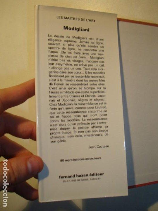 Libros de segunda mano: MODIGLIANI - BERNARD ZURCHER - FERNAND HAZAN EDITEUR PARIS 1980 - Foto 4 - 194533262
