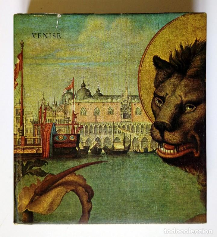 Libros de segunda mano: VENISE - Ed. Skira 1958 , 78 láminas encoladas - Venecia a través de la pintura - Foto 2 - 194609650