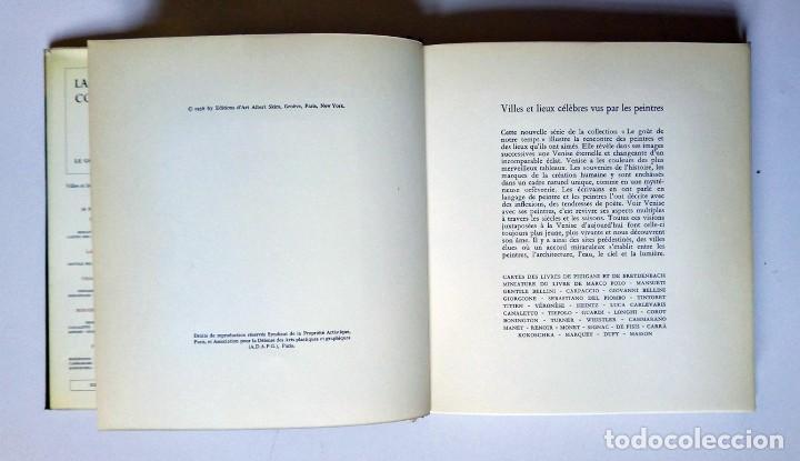 Libros de segunda mano: VENISE - Ed. Skira 1958 , 78 láminas encoladas - Venecia a través de la pintura - Foto 3 - 194609650