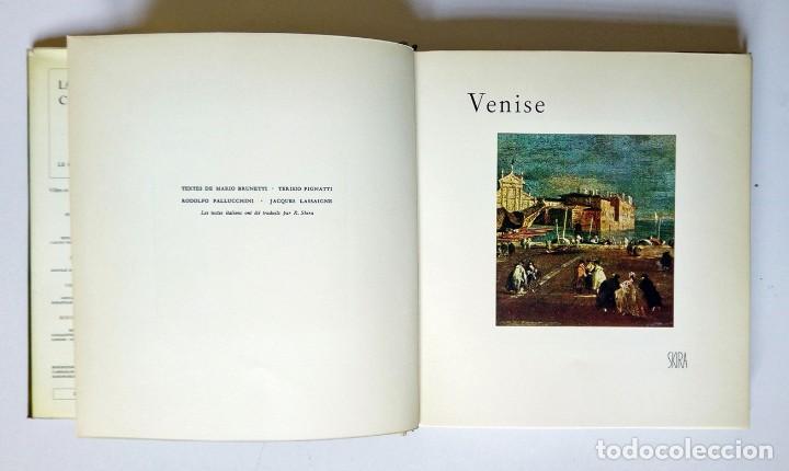 Libros de segunda mano: VENISE - Ed. Skira 1958 , 78 láminas encoladas - Venecia a través de la pintura - Foto 4 - 194609650