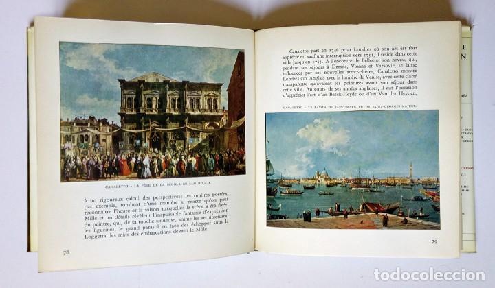 Libros de segunda mano: VENISE - Ed. Skira 1958 , 78 láminas encoladas - Venecia a través de la pintura - Foto 6 - 194609650