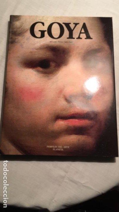 GOYA. ALFONSO E.PÉREZ SANCHEZ. PERFILES DEL ARTE. PLANETA. CON SOBRECUBIERTA (Libros de Segunda Mano - Bellas artes, ocio y coleccionismo - Pintura)