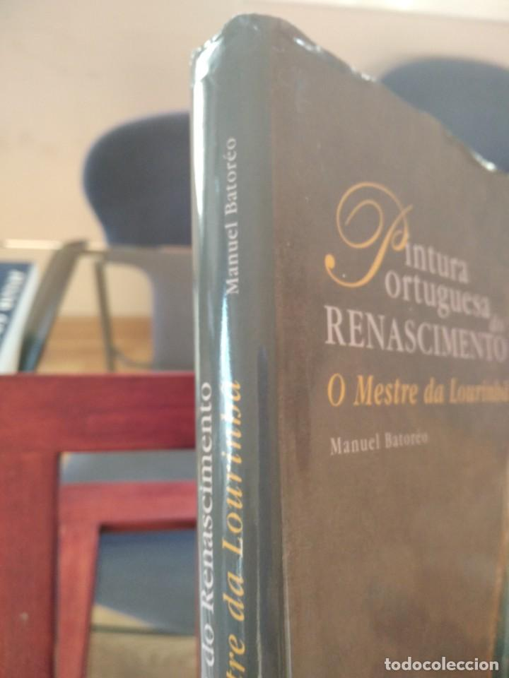 Libros de segunda mano: PINTURA PORTUGUESA DO RENASCIMENTO- DA LOURINBA--M. BATOREO-NUMERADO 33/50 -FIRM. Y DEDIC. AUTOR - Foto 2 - 194616806