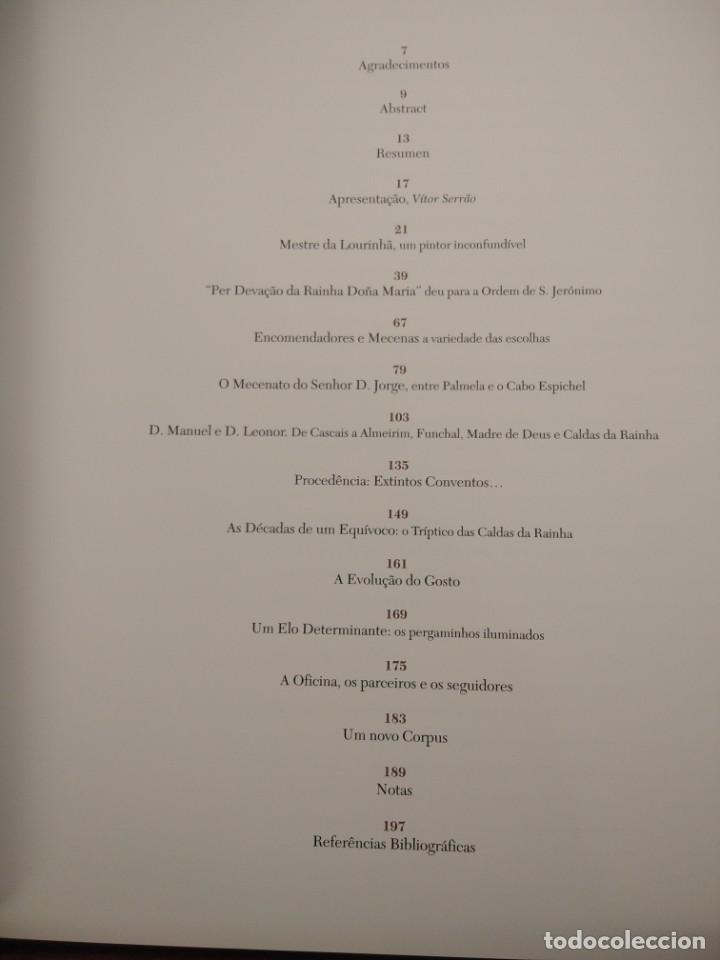 Libros de segunda mano: PINTURA PORTUGUESA DO RENASCIMENTO- DA LOURINBA--M. BATOREO-NUMERADO 33/50 -FIRM. Y DEDIC. AUTOR - Foto 10 - 194616806