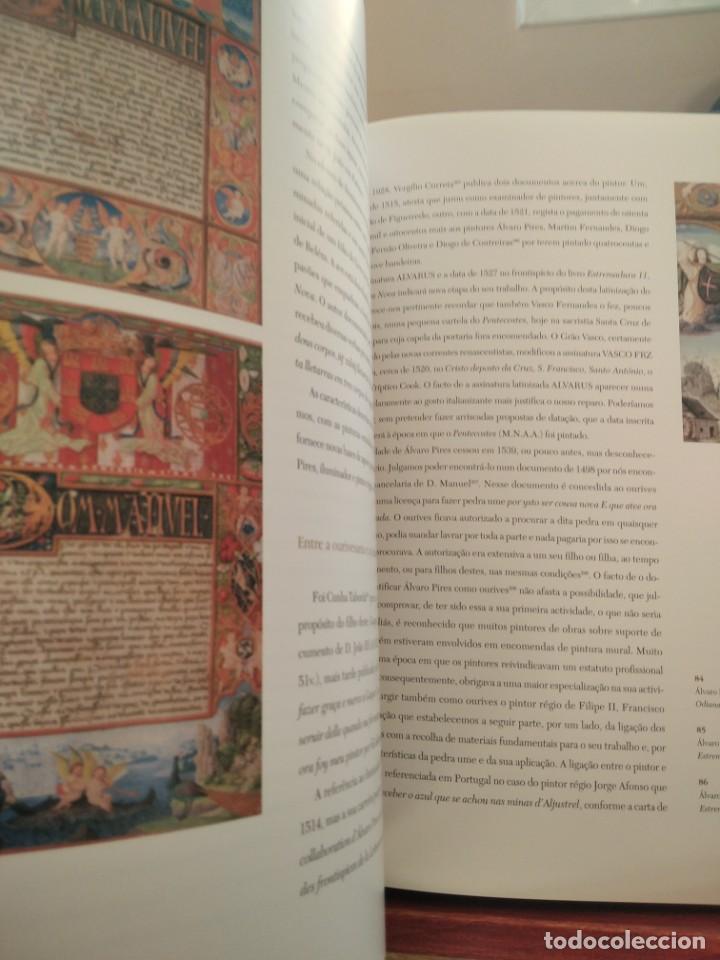 Libros de segunda mano: PINTURA PORTUGUESA DO RENASCIMENTO- DA LOURINBA--M. BATOREO-NUMERADO 33/50 -FIRM. Y DEDIC. AUTOR - Foto 21 - 194616806