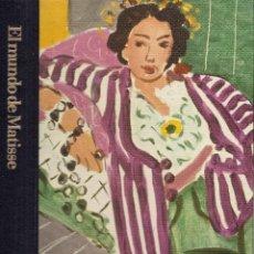 Libros de segunda mano: EL MUNDO DE MATISSE (1869-1954), POR JOHN RUSSELL (BIBLIOTECA DE ARTE TIME-LIFE, 1982). Lote 194625553