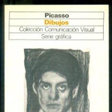 Libros de segunda mano: NUMULITE * PICASSO DIBUJOS COLECCIÓN COMUNICACIÓN VISUAL SERIE GRÁFICA . Lote 194648511