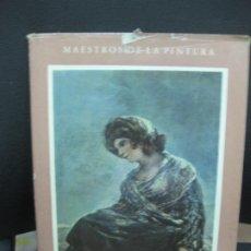 Libros de segunda mano: FRANCISCO DE GOYA. JOSE LOPEZ-REY, PH. D. AGUILAR DE EDICIONES. 1951.. Lote 194654752