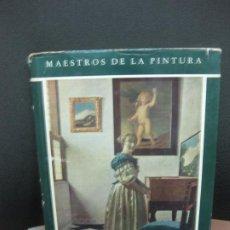 Libros de segunda mano: JAN VERMER DE DELFT POR FRITHJOF VAN THIENEN. AGUILAR DE EDICIONES. 1950.. Lote 194657560