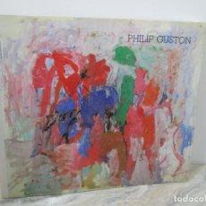 Libros de segunda mano: PHILIP GUSTON. RETROSPECTIVA DE PINTURA. CENTRO DE ARTE REINA SOFIA. 1989. MINISTERIO DE CULTURA. Lote 194658591