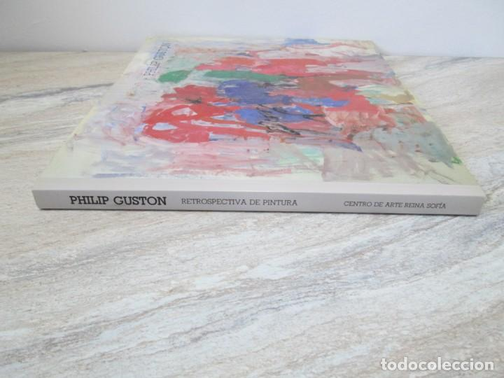 Libros de segunda mano: PHILIP GUSTON. RETROSPECTIVA DE PINTURA. CENTRO DE ARTE REINA SOFIA. 1989. MINISTERIO DE CULTURA - Foto 2 - 194658591