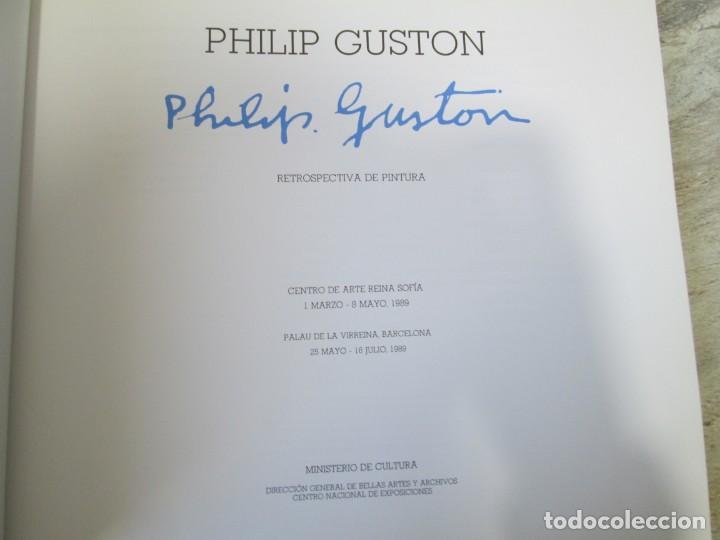 Libros de segunda mano: PHILIP GUSTON. RETROSPECTIVA DE PINTURA. CENTRO DE ARTE REINA SOFIA. 1989. MINISTERIO DE CULTURA - Foto 7 - 194658591