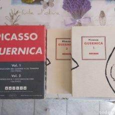 Libros de segunda mano: FACSÍMIL A TAMAÑO NATURAL DEL GUERNICA DE PICASSO REVISTA POESIA 39 - 40. Lote 194678911