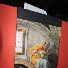 Libros de segunda mano: CONSERVACIÓN DE LOS FRESCOS LA CAPILLA SIXTINA. Lote 194685126
