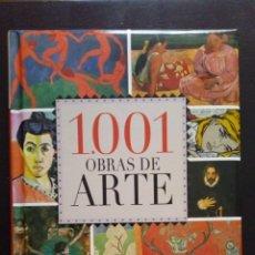 Libros de segunda mano: 1001 OBRAS DE ARTE. EDITORIAL SERVILIBRO NUEVO. Lote 194733831