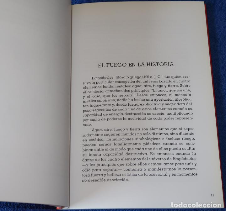 Libros de segunda mano: El fuego - Julián Sesmero - Publicaciones de la galería de arte Benedito - Foto 4 - 194738417