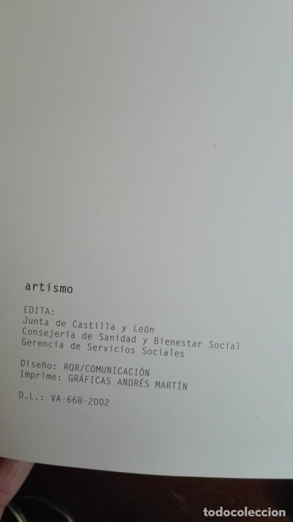 Libros de segunda mano: Artismo autismo Junta de Castilla y León Burgos - Foto 2 - 194863018