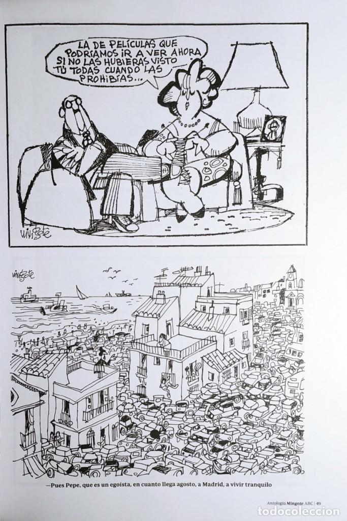 Libros de segunda mano: MINGOTE : ANTOLOGÍA. MADRID : DIARIO ABC, 2012. - Foto 4 - 194873128