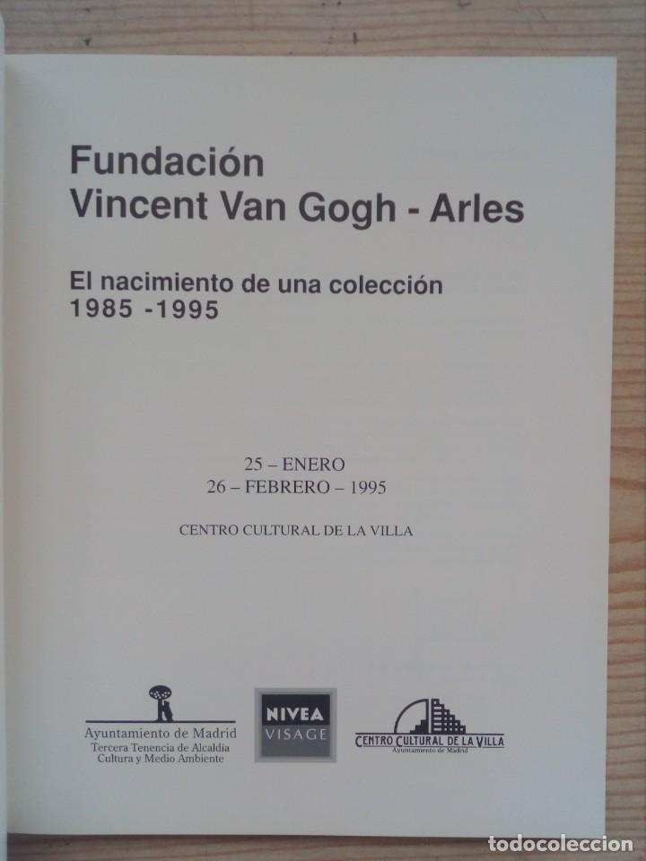 Libros de segunda mano: Vincent Van Gogh - Arles - 1888-1988 - Foto 2 - 194886772