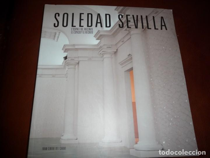 SOLEDAD SEVILLA-EL ESPACIO Y EL RECINTO.2001.IVAM VALENCIA. 27X29, RUSTIC.168PP- **525 (Libros de Segunda Mano - Bellas artes, ocio y coleccionismo - Pintura)