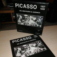 Libros de segunda mano: PICASSO 1927 1939 DEL MINOTAURO AL GUERNICA. Lote 194932406