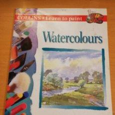 Libros de segunda mano: WATERCOLOURS (ALWYN CRAWSHAW). Lote 195012028