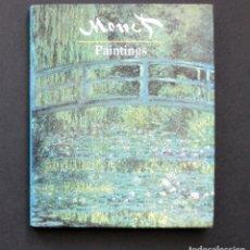 Libros de segunda mano: MONET. PAINTINGS – WINGS SSOOKS 1992. Lote 195018596