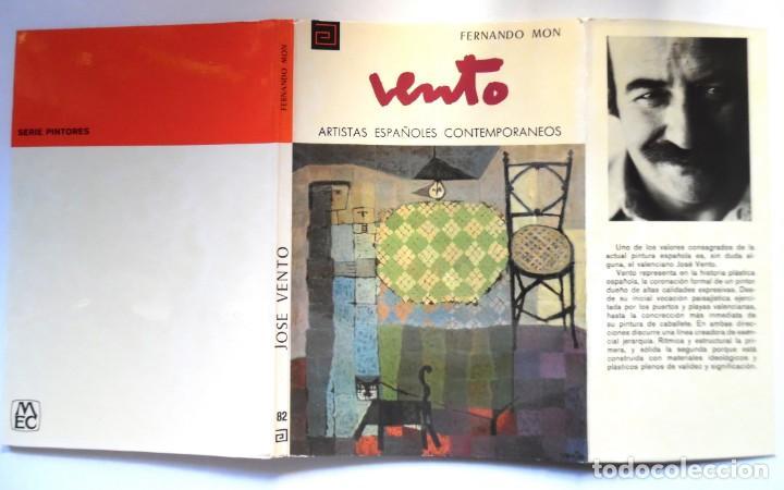 JOSÉ VENTO, MONOGRAFÍA DE FERNANDO MON (Libros de Segunda Mano - Bellas artes, ocio y coleccionismo - Pintura)