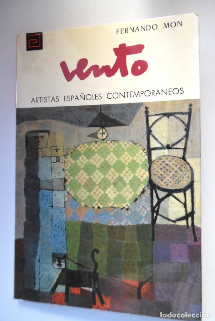 Libros de segunda mano: José Vento, monografía de Fernando Mon - Foto 3 - 195050296