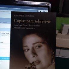 Libros de segunda mano: STEPHANIE SIEBURT, COPLAS PARA SOBREVIVIR. CATEDRA 2014. Lote 195057081