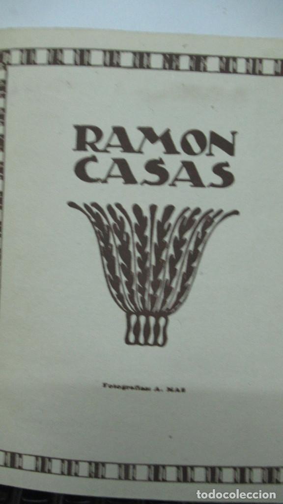 Libros de segunda mano: Ramon Casas Monografias de Arte Libro con 24 laminas de dibujos - Foto 2 - 195057877