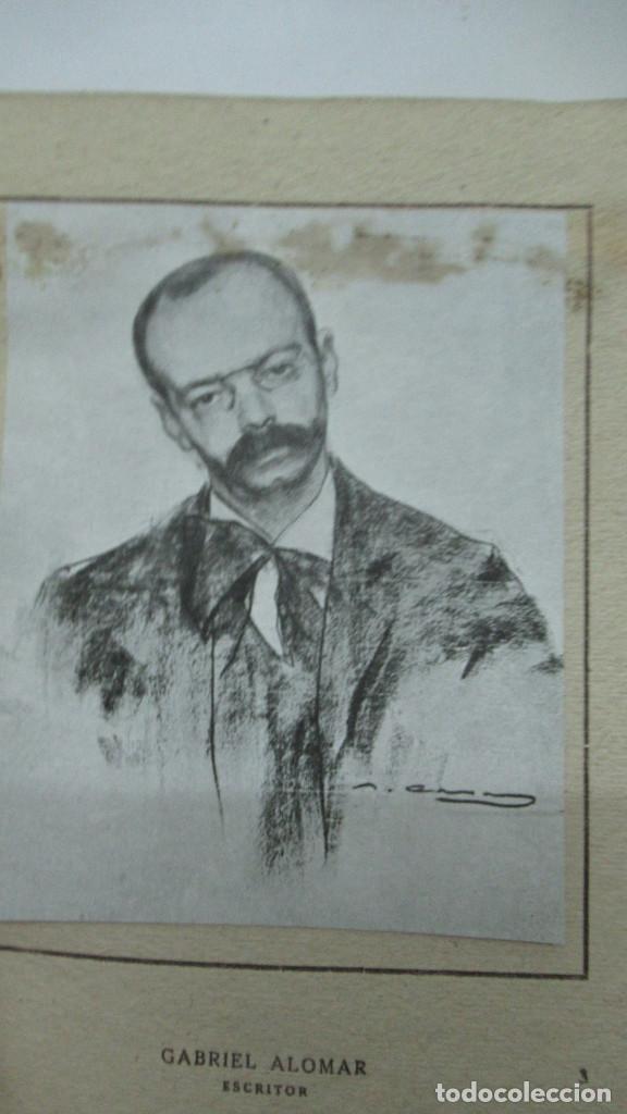 Libros de segunda mano: Ramon Casas Monografias de Arte Libro con 24 laminas de dibujos - Foto 5 - 195057877