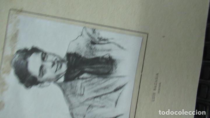 Libros de segunda mano: Ramon Casas Monografias de Arte Libro con 24 laminas de dibujos - Foto 6 - 195057877