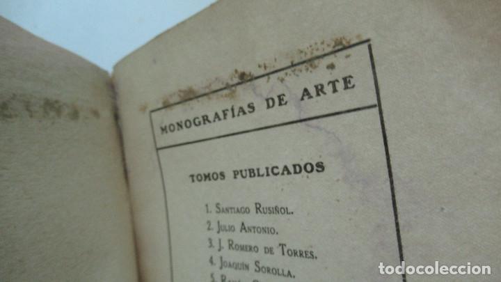 Libros de segunda mano: Ramon Casas Monografias de Arte Libro con 24 laminas de dibujos - Foto 7 - 195057877