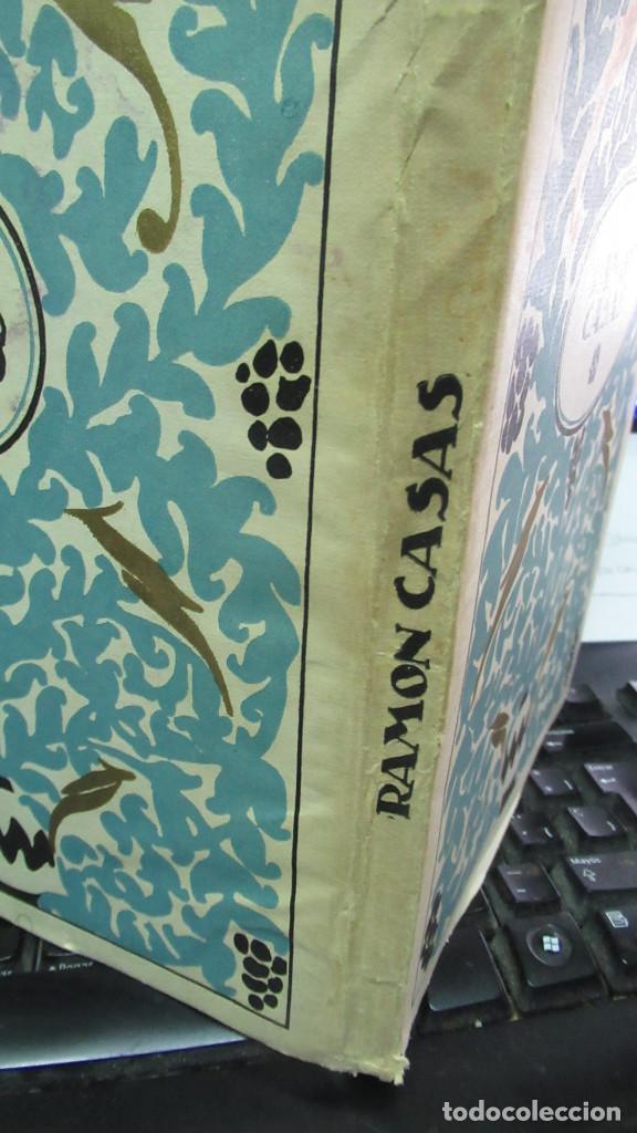 Libros de segunda mano: Ramon Casas Monografias de Arte Libro con 24 laminas de dibujos - Foto 9 - 195057877