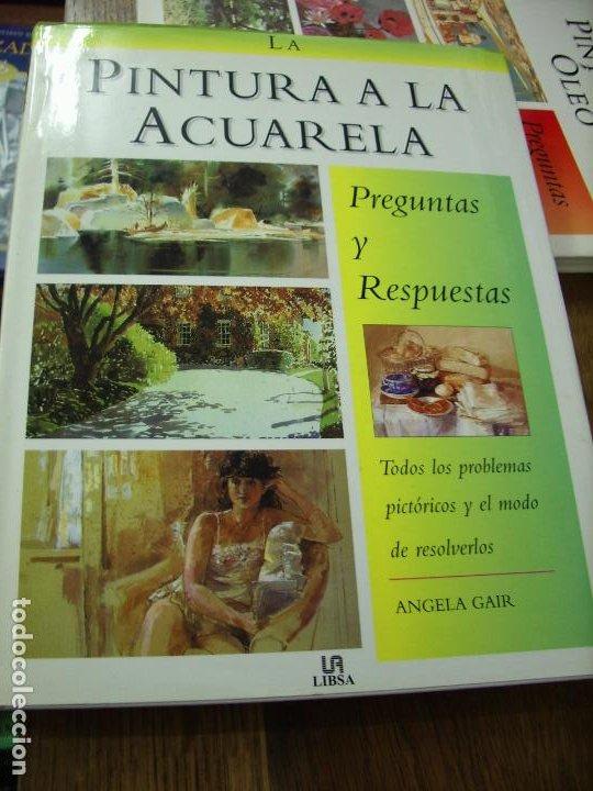 LA PINTURA A LA ACUARELA PREGUNTAS Y RESPUESTAS, ANGELA GAIR. EP-237 (Libros de Segunda Mano - Bellas artes, ocio y coleccionismo - Pintura)